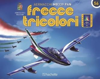Costruisci l'Aermacchi MB339 PAN Frecce Tricolori uscita 56