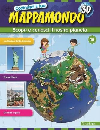 Costruisci il Mappamondo 3D 2^ edizione uscita 46