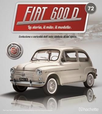 Costruisci la mitica FIAT 600 uscita 72