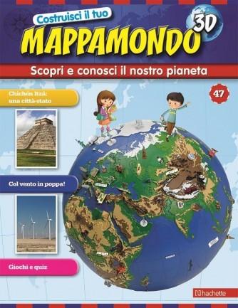 Costruisci il Mappamondo 3D 2^ edizione uscita 47