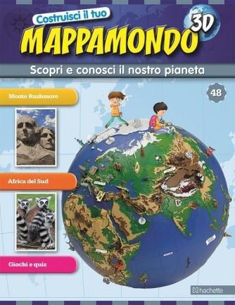 Costruisci il Mappamondo 3D 2^ edizione uscita 48