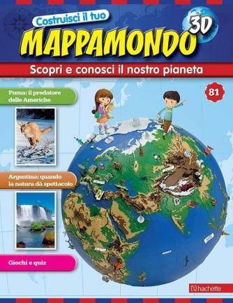 Costruisci il Mappamondo 3D 2^ edizione uscita 81