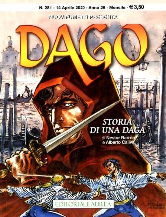 Dago Anno 22 In Poi - N° 281 - Storia Di Una Daga - Nuovifumetti Presenta Editoriale Aurea