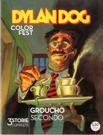 Dylan Dog Color Fest - N° 34 - La Fine Di Un Giorno Qualunque/La Sindrome Di Stencil/Groucho Oltre Lo Specchio - Bonelli Editore