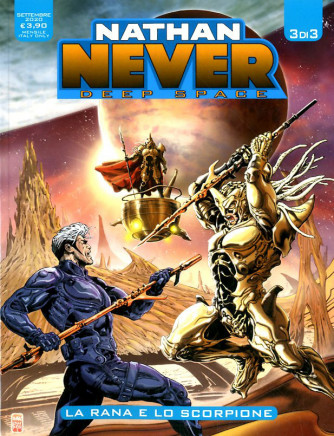 Nathan Never Deep Space (M3) - N° 3 - Deep Space - Bonelli Editore