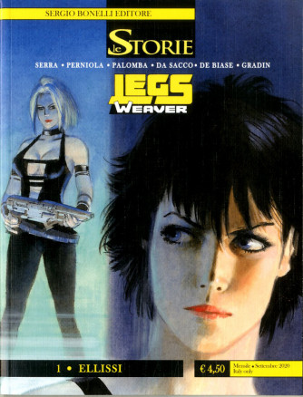 Storie - N° 96 - Ellissi - Legs Weaver Bonelli Editore