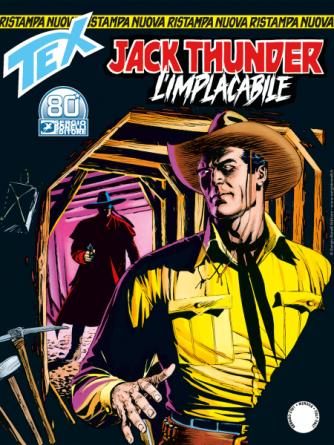 Tex Nuova Ristampa N.465 - Jack Thunder L'implacabile