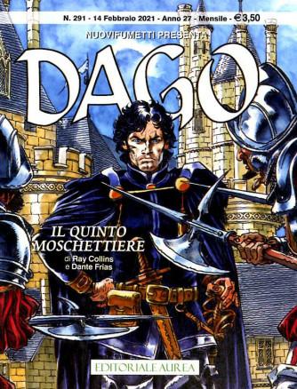 Dago Anno 22 In Poi - N° 291 - Il Quinto Moschettiere - Nuovifumetti Presenta Editoriale Aurea