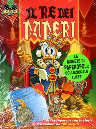 Classici Disney - N° 11 - Il Re Dei Paperi + Moneta - Classici Disney Panini Comics