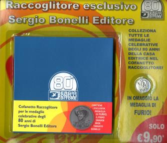 Raccoglitore Medaglie 80 Anni - Vendibile Solo Con Albo Bonelli Con Medaglia - Bonelli Editore