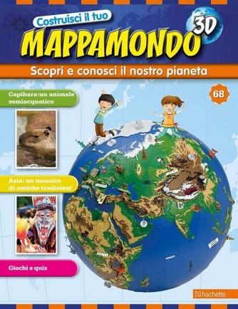 Costruisci il Mappamondo 3D 2^ edizione uscita 68