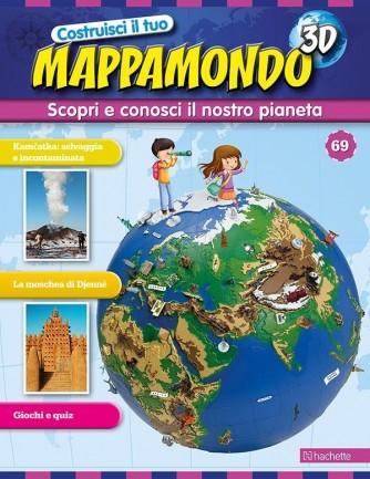 Costruisci il Mappamondo 3D 2^ edizione uscita 69