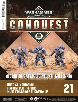 Warhammer 40,000: Conquest uscita 21
