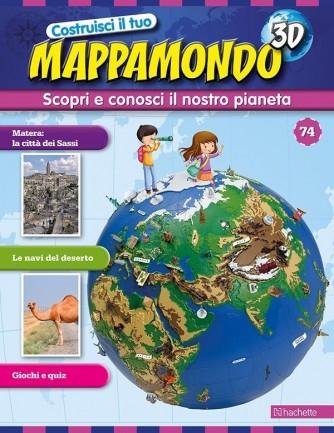 Costruisci il Mappamondo 3D 2^ edizione uscita 74