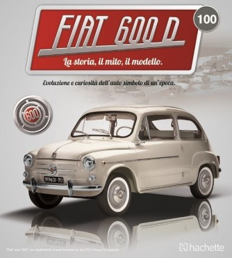 Costruisci la mitica FIAT 600 uscita 100