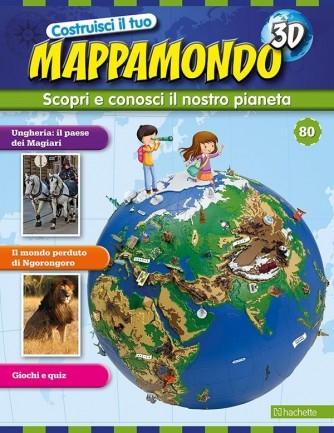 Costruisci il Mappamondo 3D 2^ edizione uscita 80
