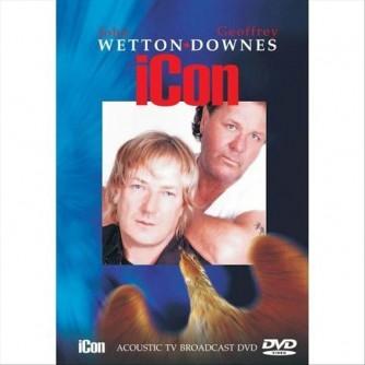 JOHN WETTON GEOFF DOWNES Icon Acoustic tv broadcast (DVD)