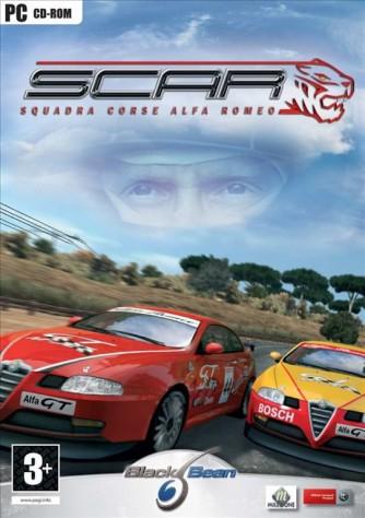 S.C.A.R Squadra Corse Alfa Romeo for Windows PC (PC CD-ROM)