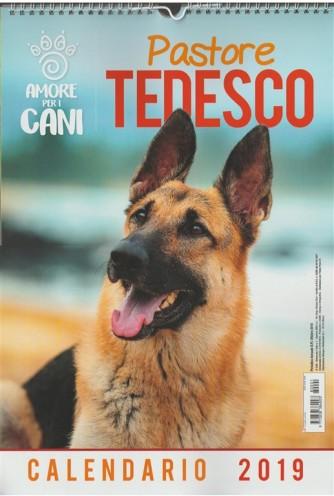 Calendario 2019: Amore per i Cani - Pastore tedesco cm.29x42