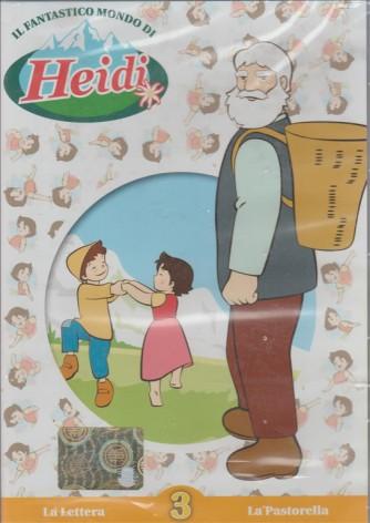 Il Fantastico Mondo di Heidi n.3 - La lettera - La pastorella (DVD Video)
