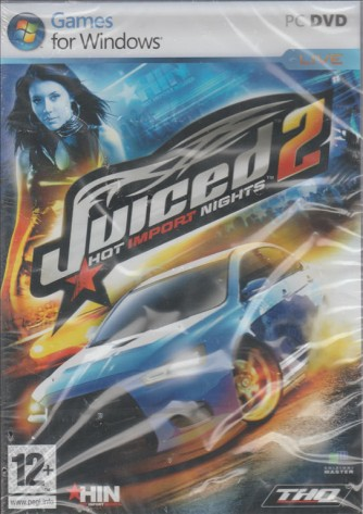 Juiced 2 Hot Import Night - Racing Game PC DVD ROM Videogioco
