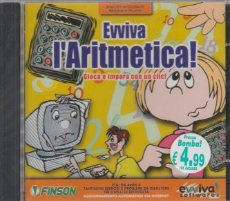 Evviva l'Aritmetica (PC CD-ROM)