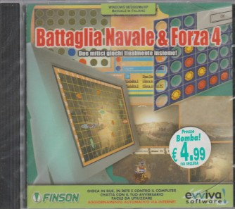 Battaglia navale e forza 4 (PC CD-ROM)