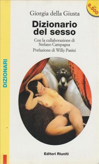 Dizionario del sesso di Giorgia Della Giusta