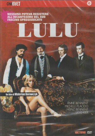 Lulu, nessuno poteva resistere all'incantesimo del suo fascino spregiudicato DVD