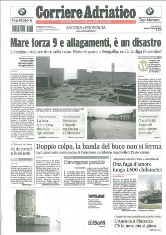 Corriere Adriatico - Sabato 7 Febbraio 2015