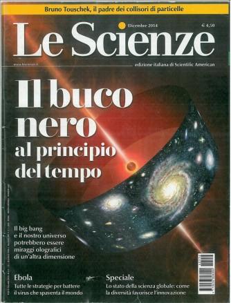 LE SCIENZE - mensile Dicembre 2014 n.556