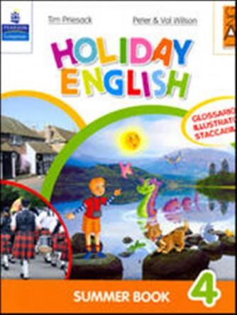 Libro vacanze-Holiday English. Summer Book. Con CD Audio. Vol. 4