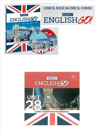 BBC english GO! - Unit 28° DVD - edizione Il Sole 24 Ore