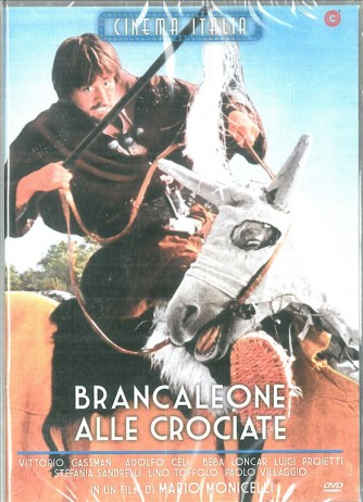 Brancaleone Alle Crociate - DVD-Vittorio Gassman, Adolfo Celi, Mario Monicelli