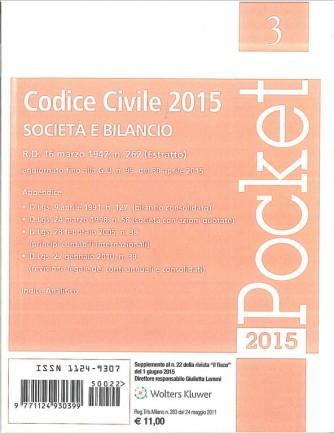Codice civile 2015 - Società e bilancio