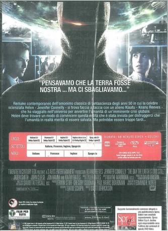 Ultimatum Alla Terra in DVD con Keanu Reeves, Jennifer Connelly, Scott Derrickson