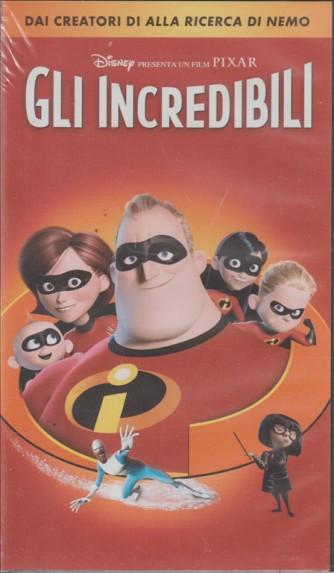 Vhs GLI INCREDIBILI - Cartoni animati Disney Pixar