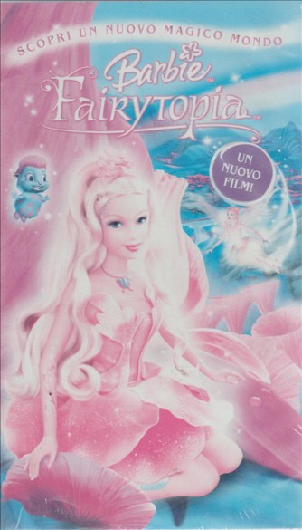 Barbie Fairytopia VHS Cartoni animati Videocassetta