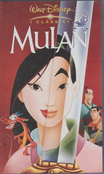 Mulan VHS Walt Disney - Videocassetta Cartoni Animati