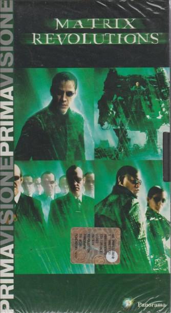 Matrix Revolutions - VHS Videocassetta