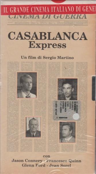 Casablanca Express - Cinema di Guerra - VHS Videocassetta