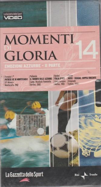 Momenti di Gloria - Emozioni azzurre II parte #14 - VHS Videocassetta