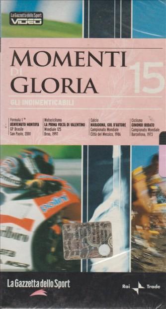 Momenti di Gloria - Gli indimenticabili #15 - VHS Videocassetta
