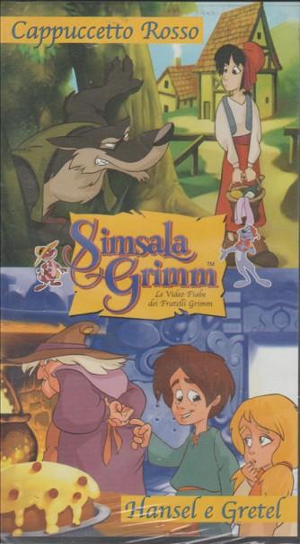 Cappuccetto Rosso-Hänsel e Gretel - VHS videocassetta cartoni animati