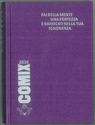 Diario scolastico COMIX 2016 - versione MINI 11,5 x 16 cm viola