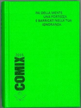 Diario scolastico COMIX 2016 - versione MINI 11,5 x 16 cm Verde