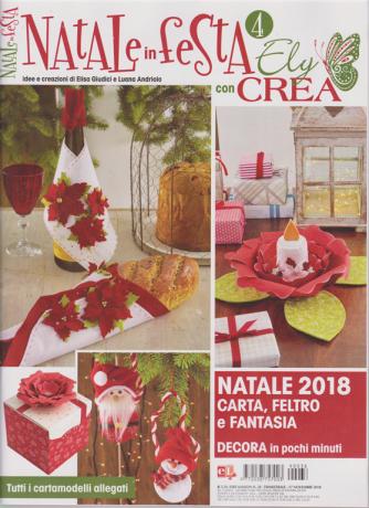 Idee Maison - Natale In Festa Con Ely crea - n. 38 - 17 novembre 2018 - trimestrale