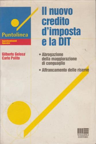 Il nuovo credito d'imposta e la DIT - Maggioli editore