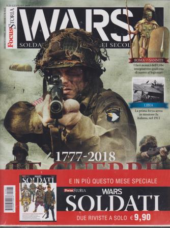 Focus Storia Wars  + Focus storia wars soldati - n. 1 - 10 novembre 2018 - trimestrale - 2 riviste