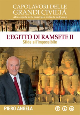 L'Egitto di Ramsete II a cura di Piero Angela - Sfide all'impossibile - DVD